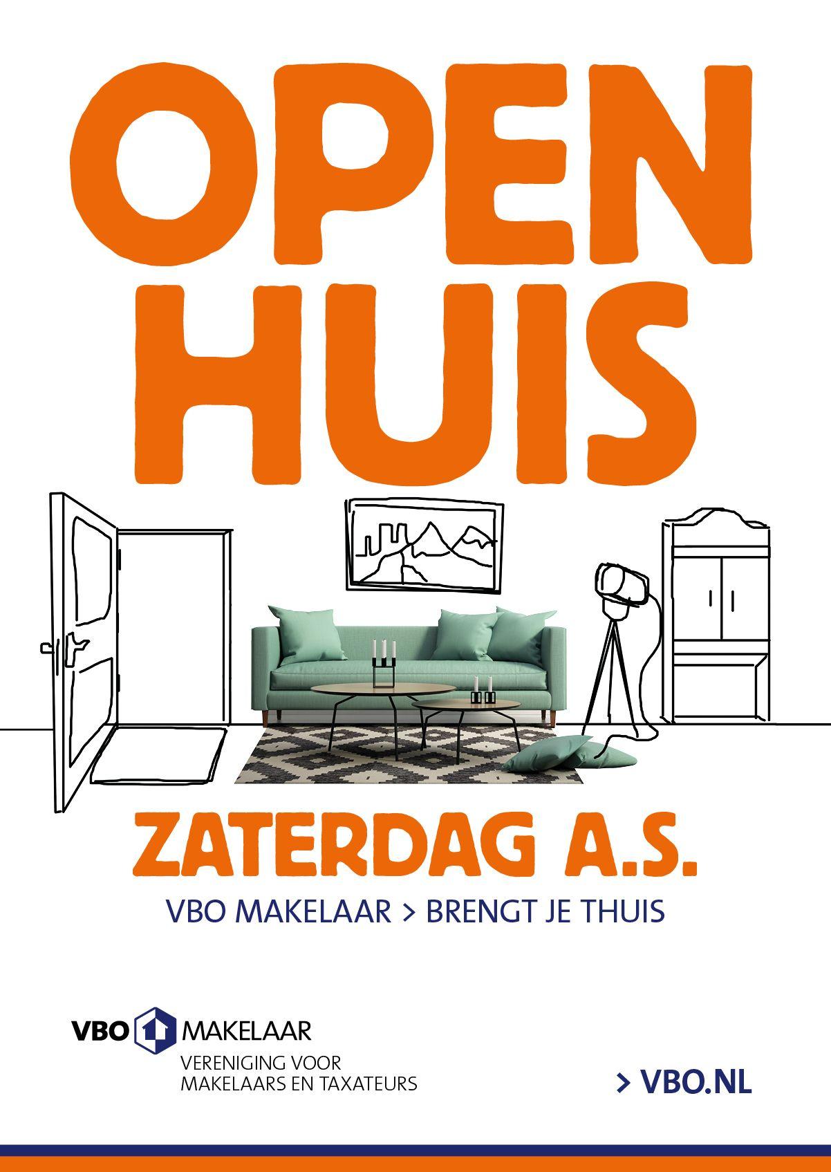 Poster voor Open Huis