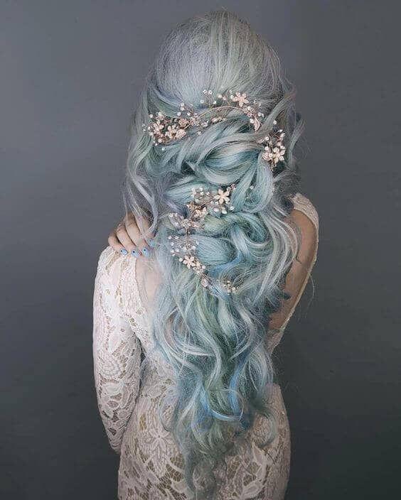 50 magische Weisen, Meerjungfrau-Haar für jede Haartyp zu stylen - #typesofhairstyles