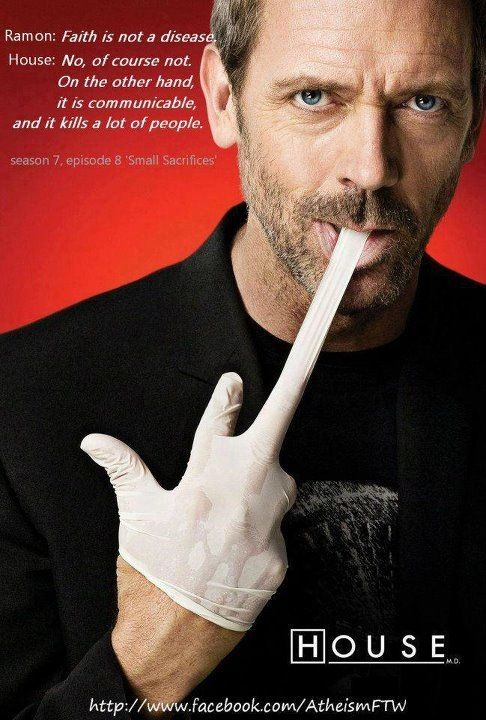 Atheism Gregory House House Md Best Tv Shows