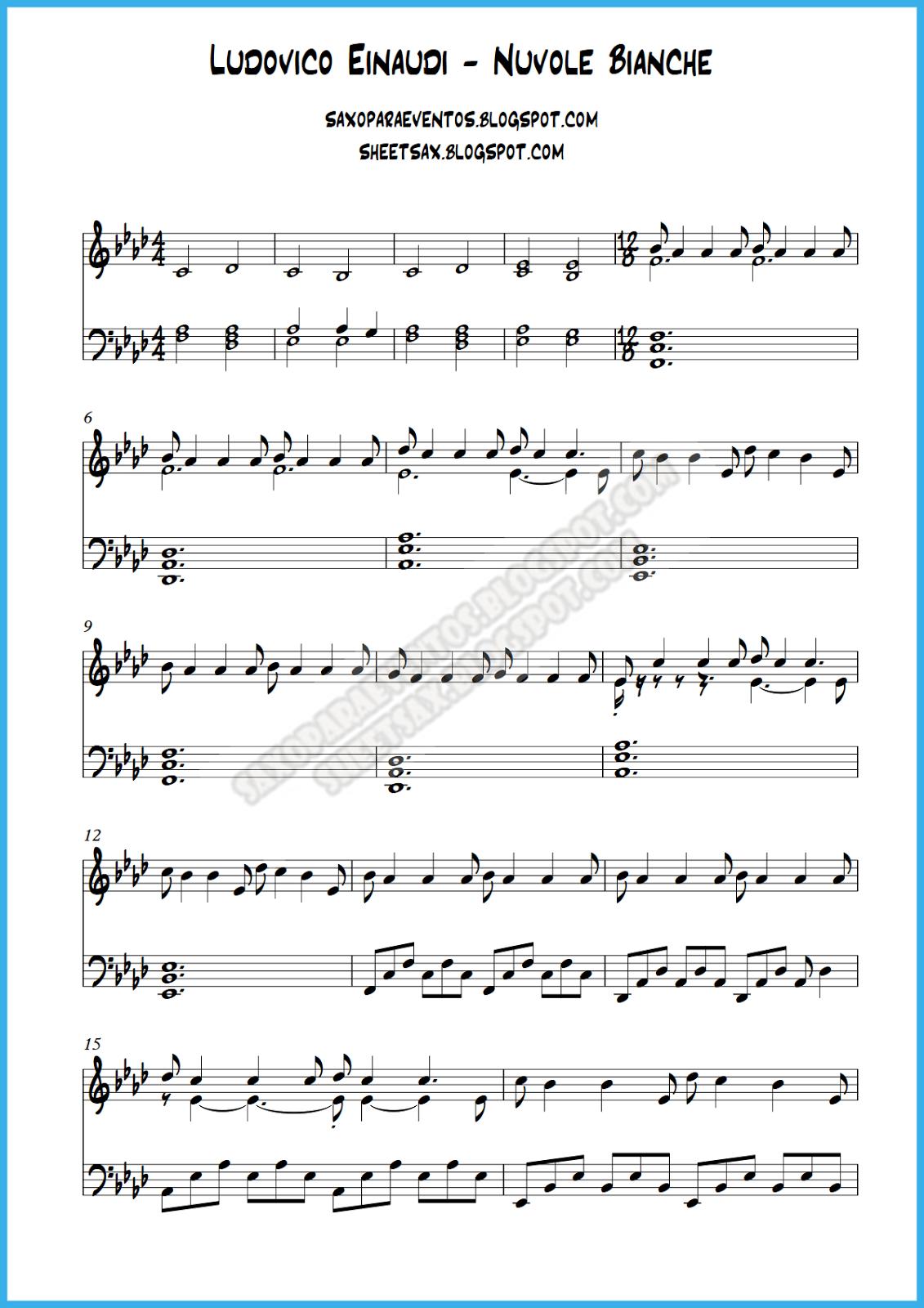 Similar to Ludovico Einaudi - Nuvole Bianche (piano cover)