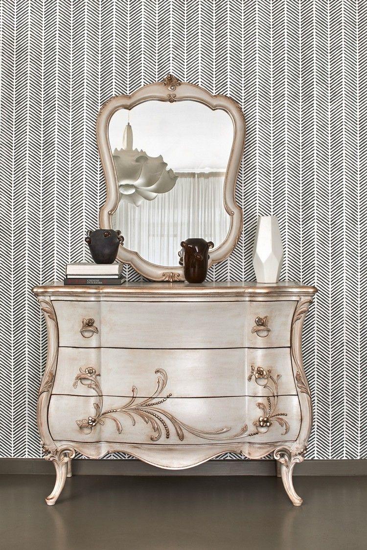 Kommode Mit Spiegel Vom Italienischen Designer Grifoni Silvano