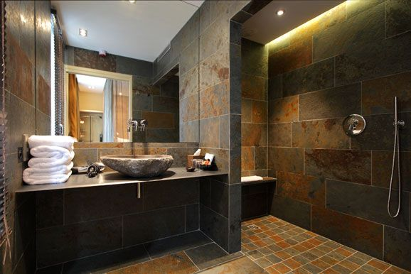 Best Salle De Bain Ardoise Et Pierre Ideas  Amazing House Design