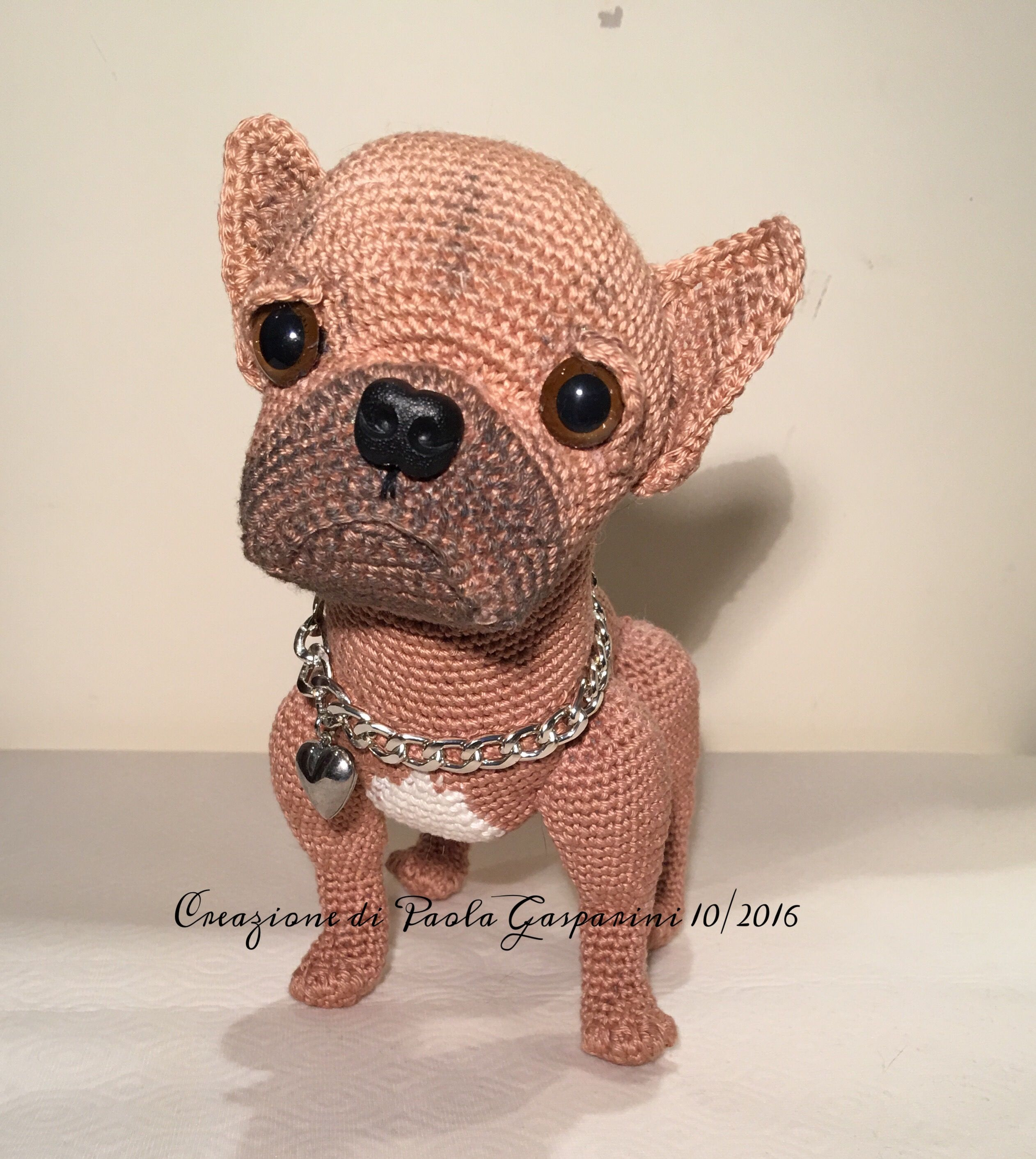 French bulldog Puppy Dog | Crochet I Like - Dogs | Pinterest ...