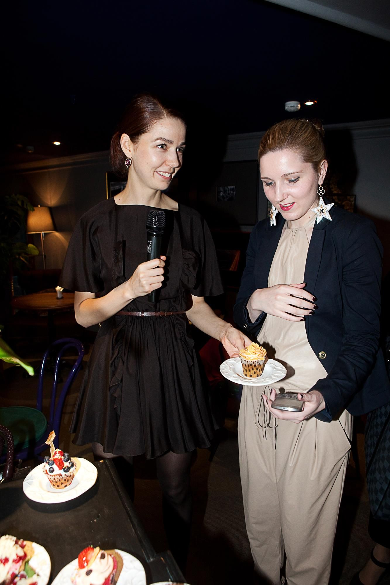 With Alena Akhmadullina at Fashion-Daily party in Cup #party #fashionblogger #blogs #fashion