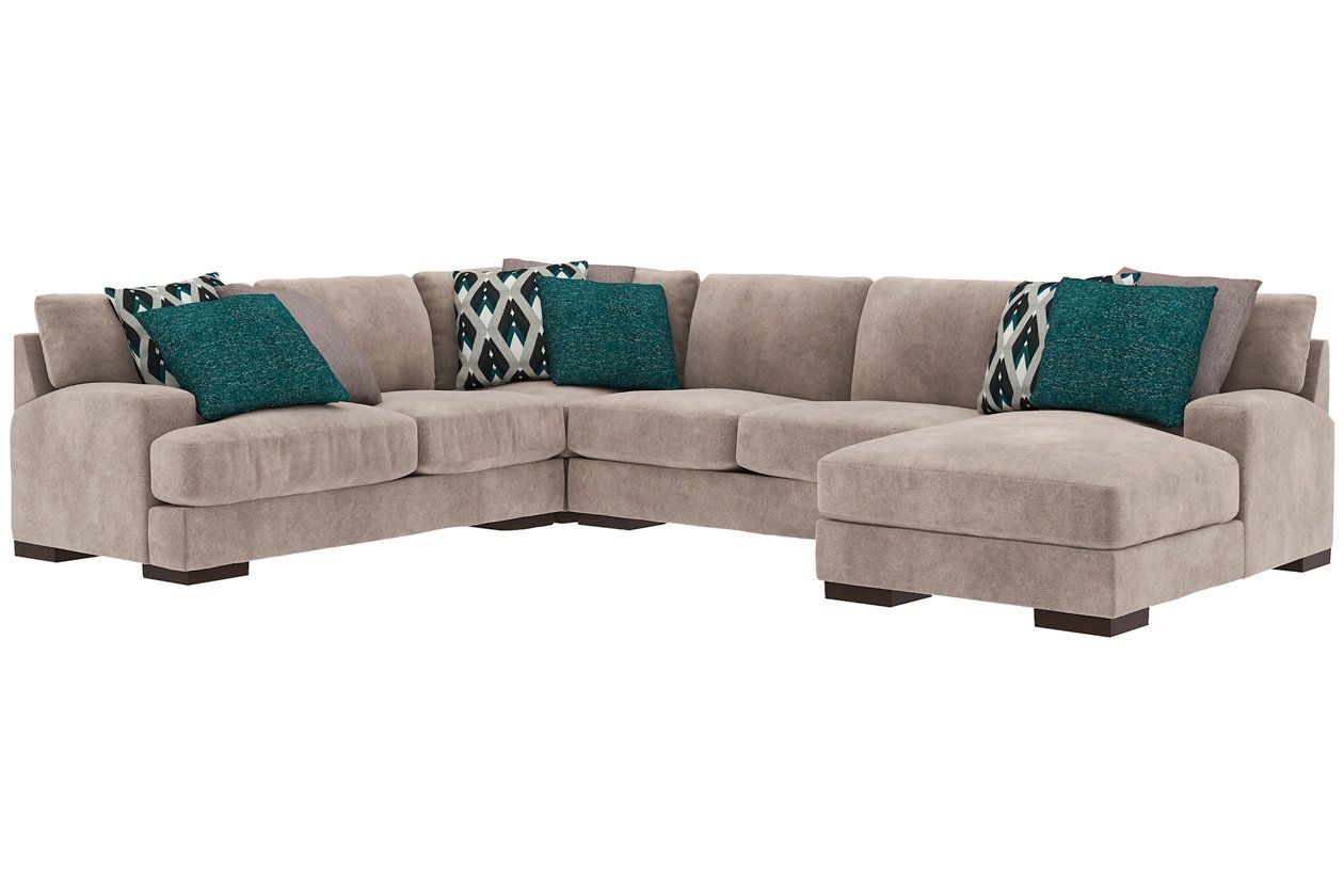 Best Bardarson 4 Piece Sectional Ashley Furniture Homestore 400 x 300