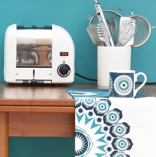 Indigon sininen keittiön uudeksi väriksi? MINI MODERNS®, interiortoday, Darjeeling, sininen, pyyhe, keittiöpyyhe, sisustus, keittiö, design, sinivalkoinen