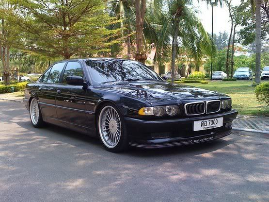 slammed bmw e38 - Google Search