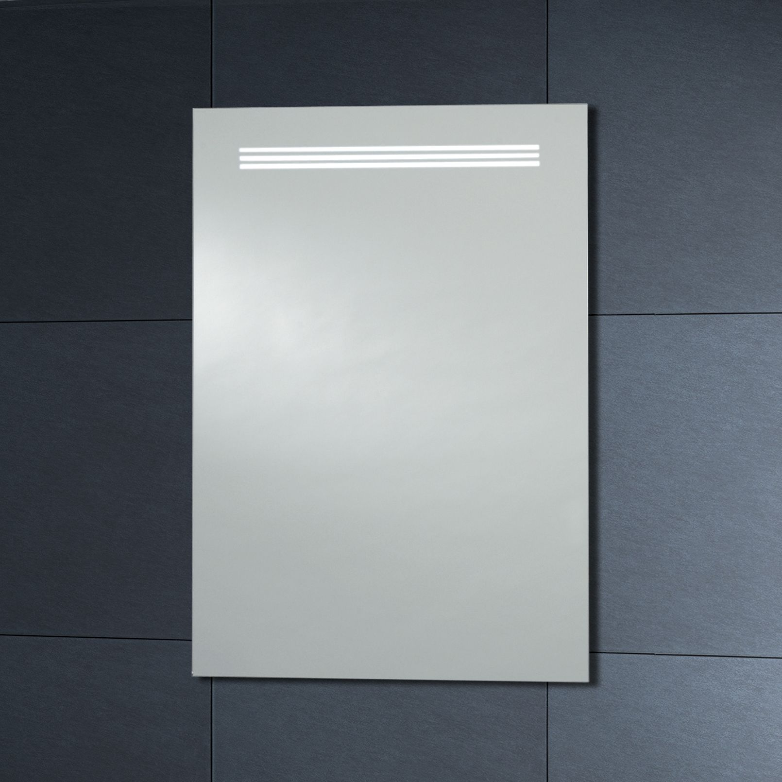Phoenix Motion Sensitive LED Illuminated Mirror With Demister Pad ...
