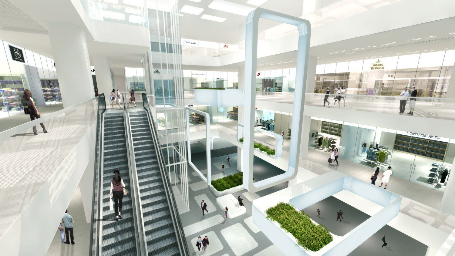Gallery of Summer International Shopping Mall / 10 Design - 1
