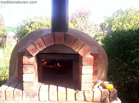 Backyard pizza oven - A more simple design For the Home
