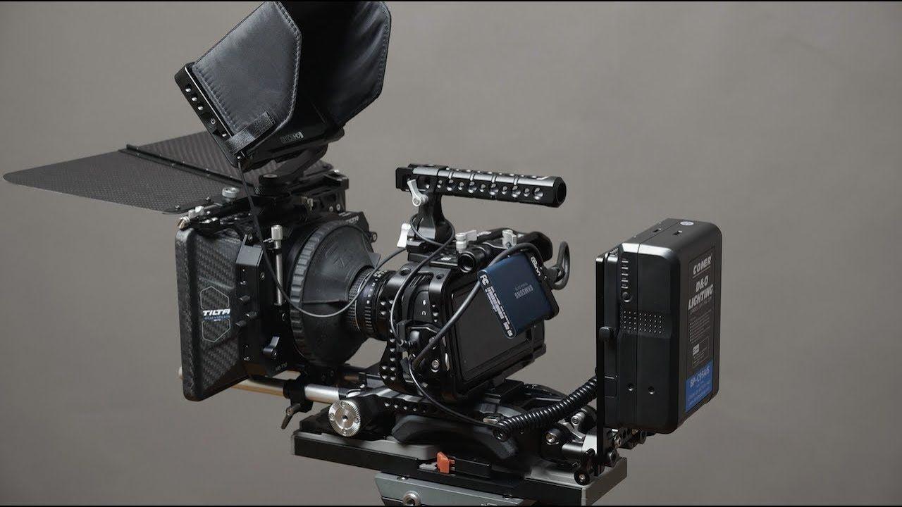 My Blackmagic Pocket Cinema Camera 4k Bmpcc4k Rig Tour Cinema Camera Black Magic Camera Camera Rig