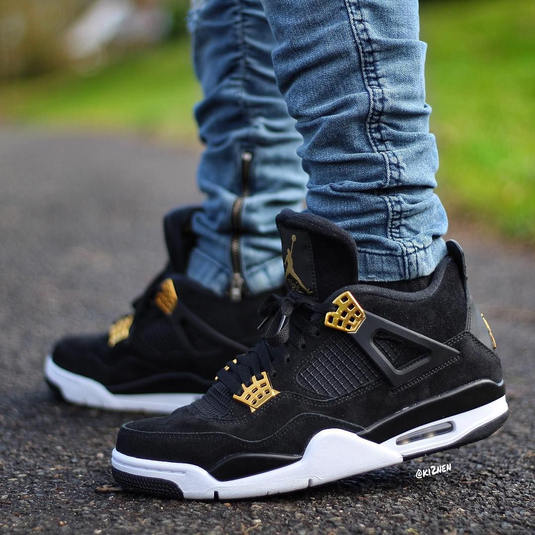 Air Jordan 4 Retro Royalty Sneakers Sneaker Boots Sneakers