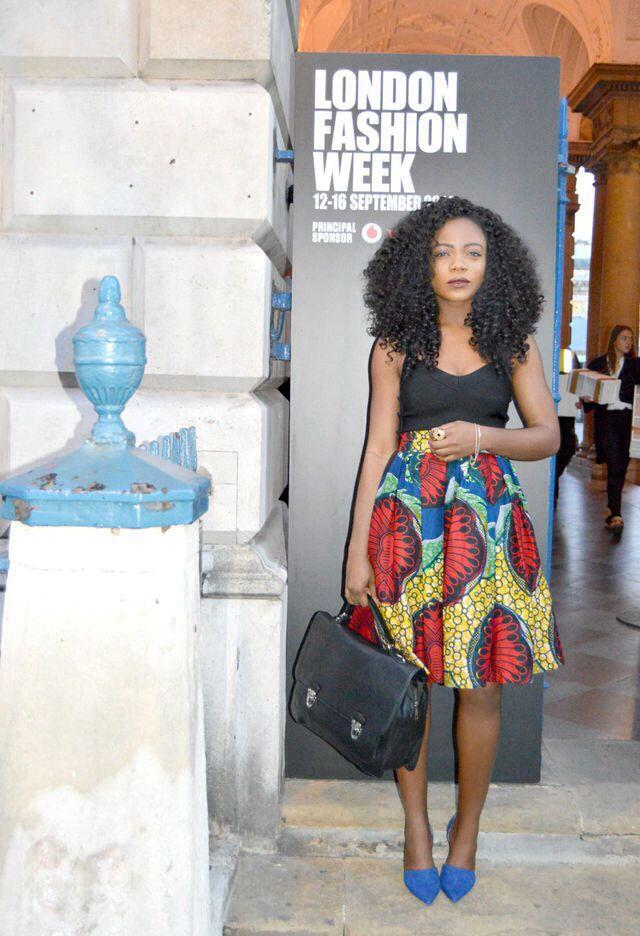 Elizabeth, London at LFW Blog: www.thestylevilla… IG: www.instagram.com…