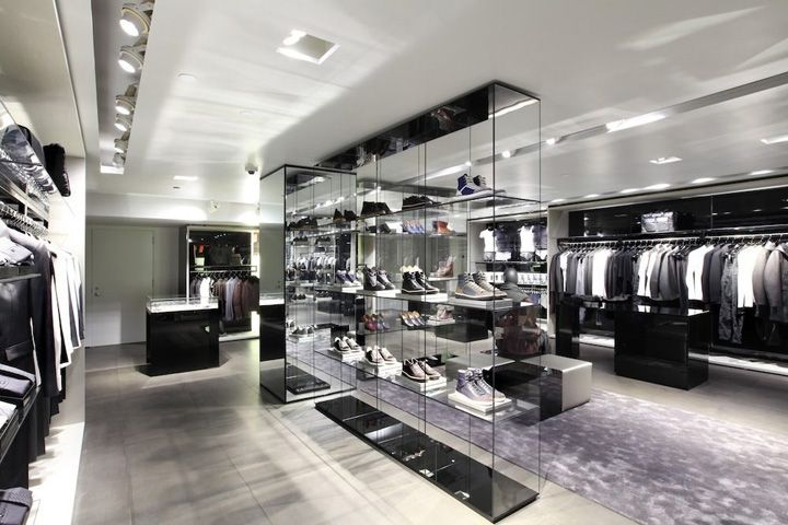 Emporio armani new york retailing store design for Armani new york