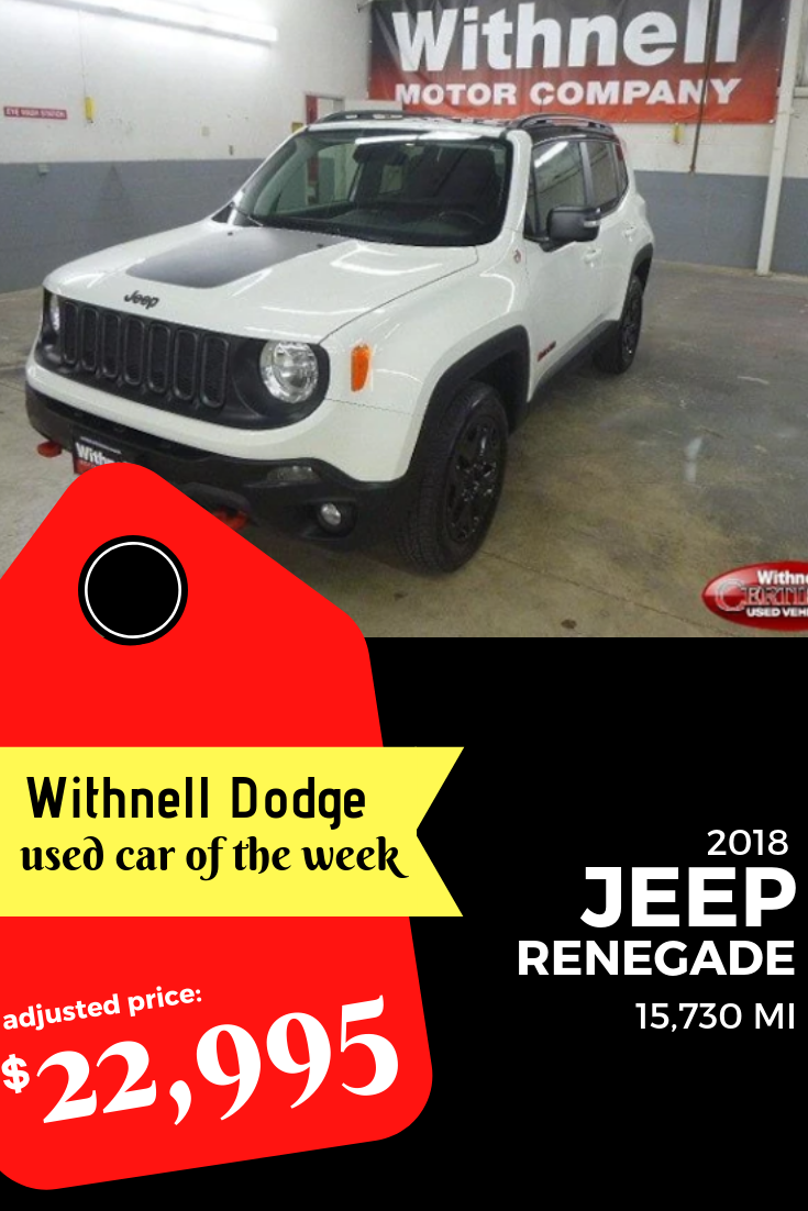 2018 Jeep Renegade For Just 22 995 At Withnell Dodge In Salem Or