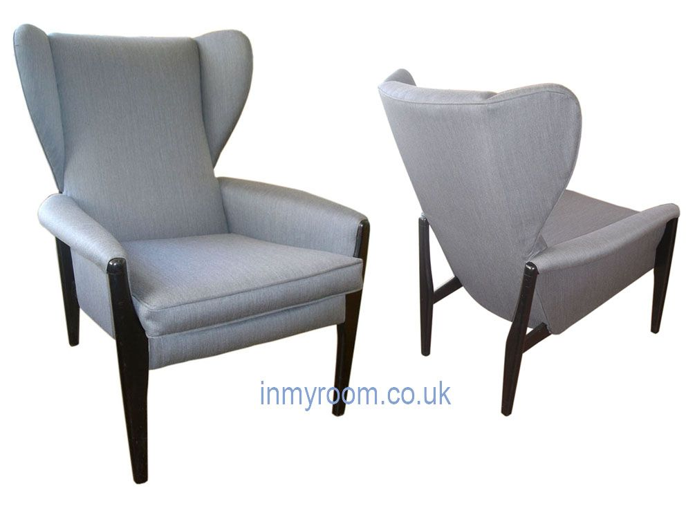 Marvelous Wing Chair By Parker Knoll British Circa 1950S Archive Machost Co Dining Chair Design Ideas Machostcouk