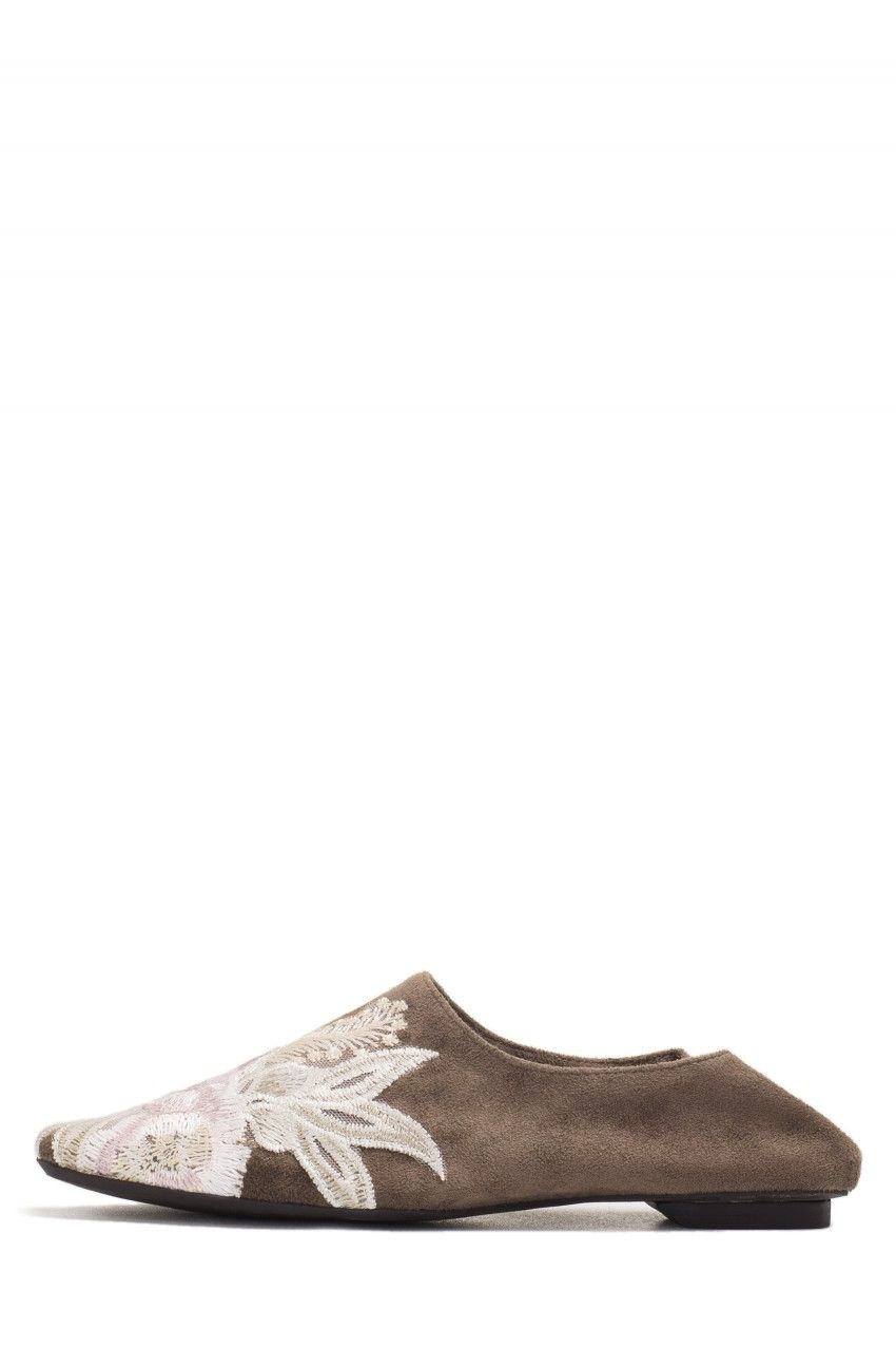 c5f7c5ad29c Jeffrey Campbell Shoes SANSA-FLR New Arrivals in Brown Ivory
