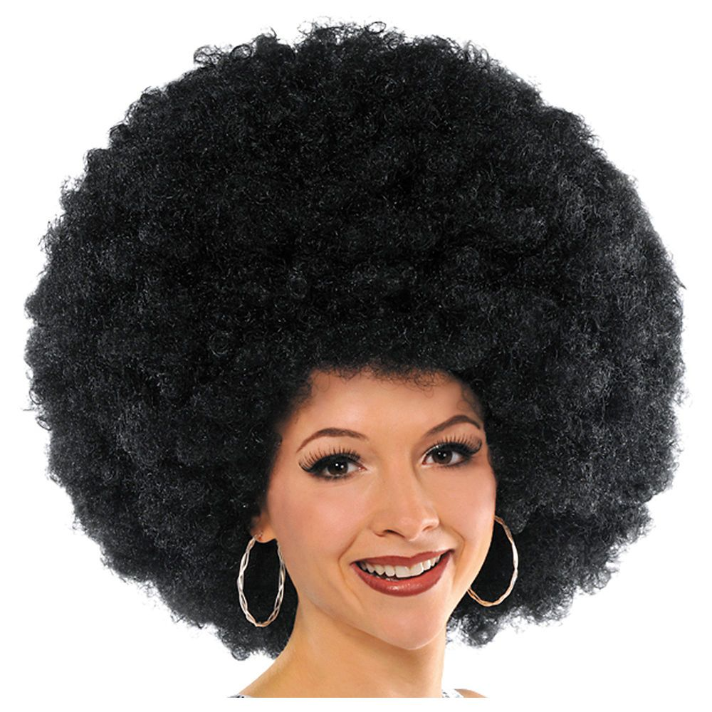 The Biggest Afro Wig Ever Afro wigs, Big afro, Afro