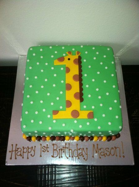 27 Amazing birthday cake ideas Amazing birthday cakes Giraffe and