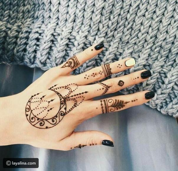 أجمل نقوش حناء ٢٠١٧ لعيد الفطر ليالينا Henna Tattoo Designs Henna Tattoo Hand Simple Henna Tattoo