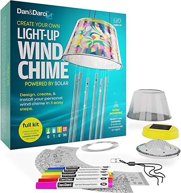 Amazon Com Craft Kits Solar Kit Wind Chimes Craft Kits
