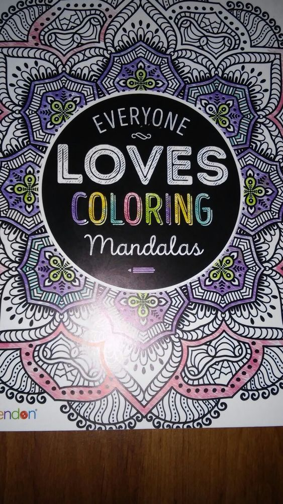 Bendon Everyone Loves Coloring Mandalas Coloring Art Book Adult
