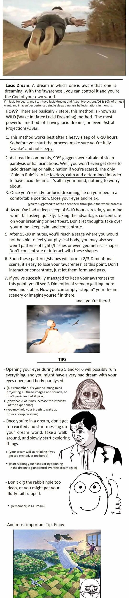 The easiest way to lucid dream