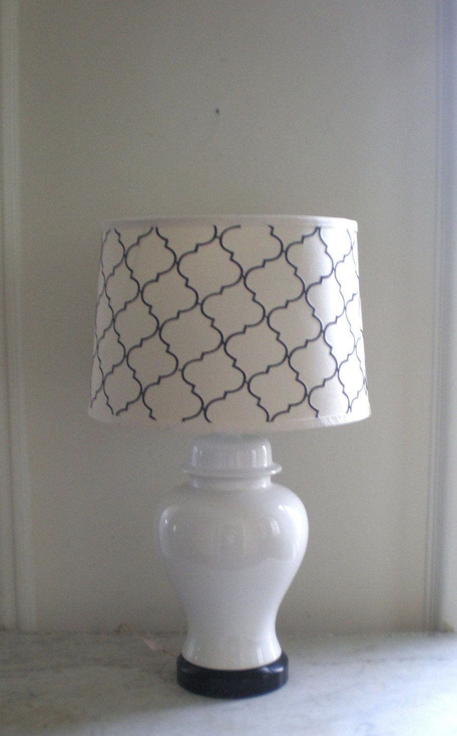 White ginger jar lamp chinoiserie jar lamp chinoiserie and jar great way to update my 35 year old ginger jar lamps white ginger arubaitofo Choice Image