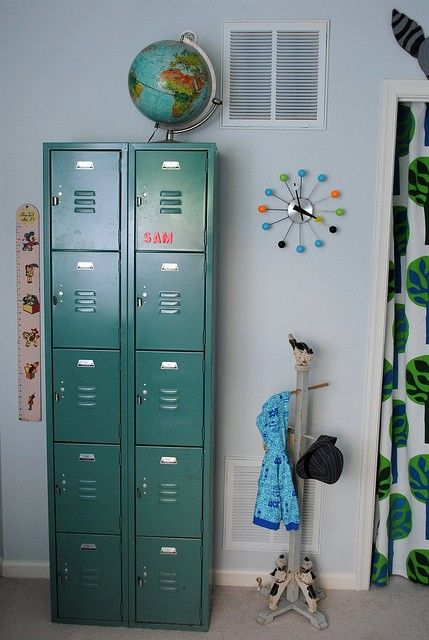 Mooie locker #kinderkamer | Pretty locker #kidsroom | Kinderkasten ...