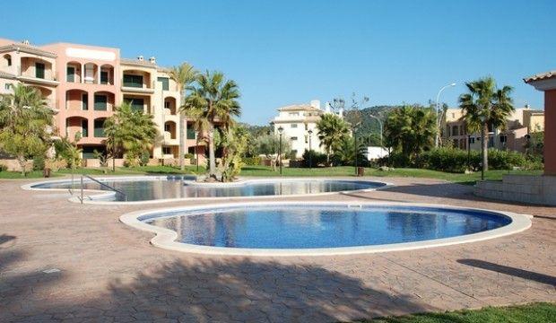 Luxury Garden Apartment In Santa Ponsa Majorca
