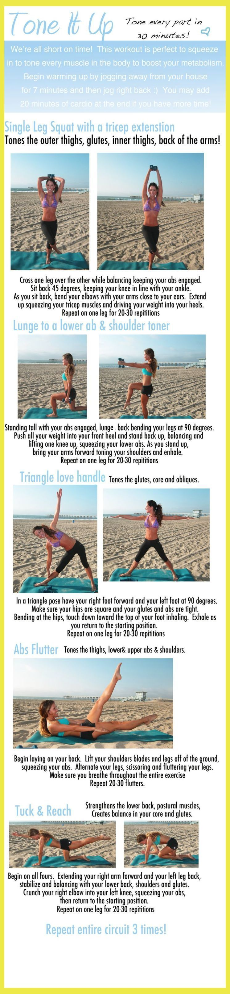 Tone every part in 30 minutes :) | 3 Exercises For Triceps | Quad exercises |  Trap Workout M... #trapsworkout Tone every part in 30 minutes :) | 3 Exercises For Triceps | Quad exercises |  Trap Workout Men Exercises . #trapeziusmuscle #Total Body Toning Workouts! #trapsworkout