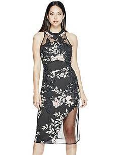 Alaura Midi Dress | GUESS.com