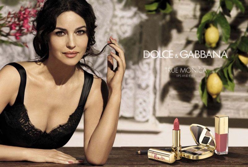 Monica Bellucci for Dolce & Gabbana True Monica Makeup Collection | FashionMention