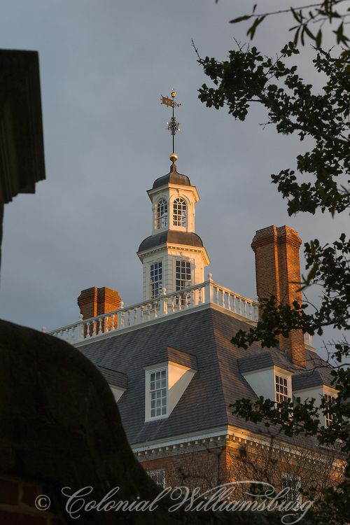 The Governor S Palace And Garden At Dusk In Late November Photo