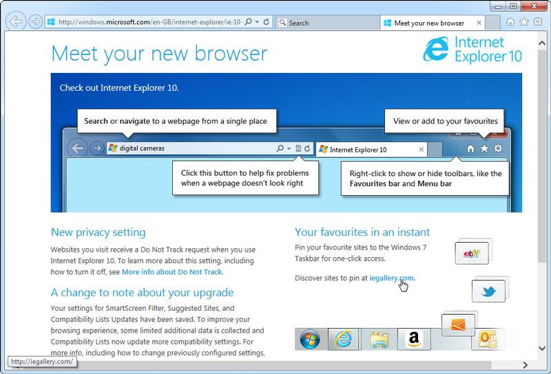 Скачать программу internet explorer для windows 7