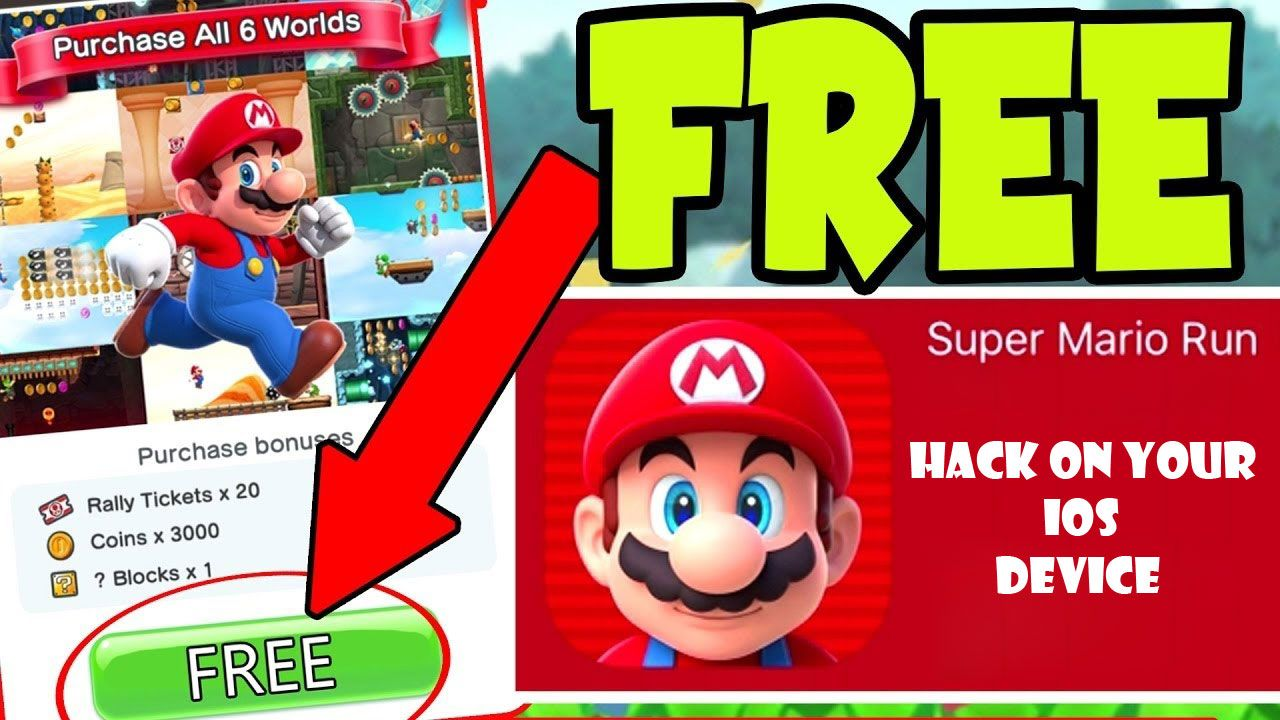 How To Hack Super Mario Run All Worlds Unlocked Free Ios 9 10 11 Please Follow Us For More Updates In 2020 Super Mario Run Mario Run Super Mario