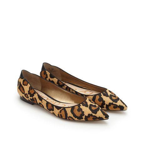 Sam Edelman Rae Leopard Print Flats // size 7