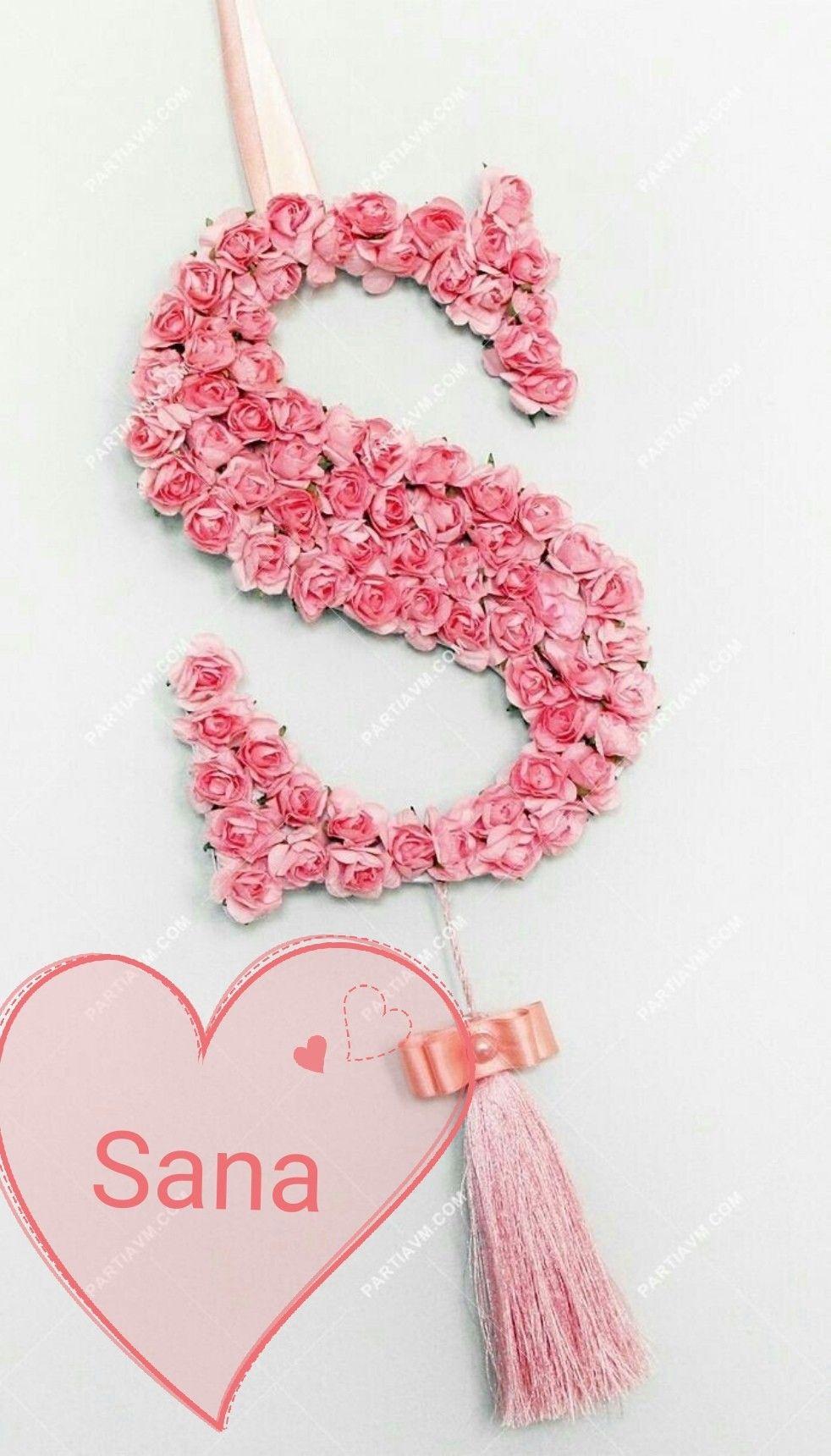 Pin By Radmila Dojcinovic On Diy Floral Letters Flower Letters Stylish Alphabets
