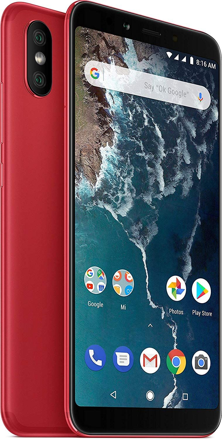 Mi A2 Red 6gb Ram 128gb Storage Camera 12mp 20mp Dual Rear Camera 20mp Front Camera Display Best Smartphone Smartphone Samsung Galaxy Phones