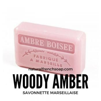 NEW - 125g Savon de Marseille Ambre Boisee - Woody Amber #FrenchSoap  RT
