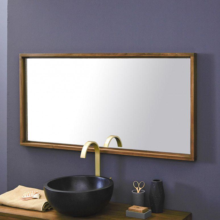 Spiegel Aus Teak 120 Parker Badezimmer Holz Teak Und Spiegel Holz