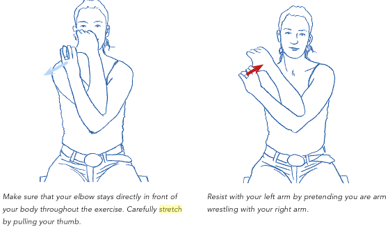 Calcific Tendonitis Rotator Cuff Exercises