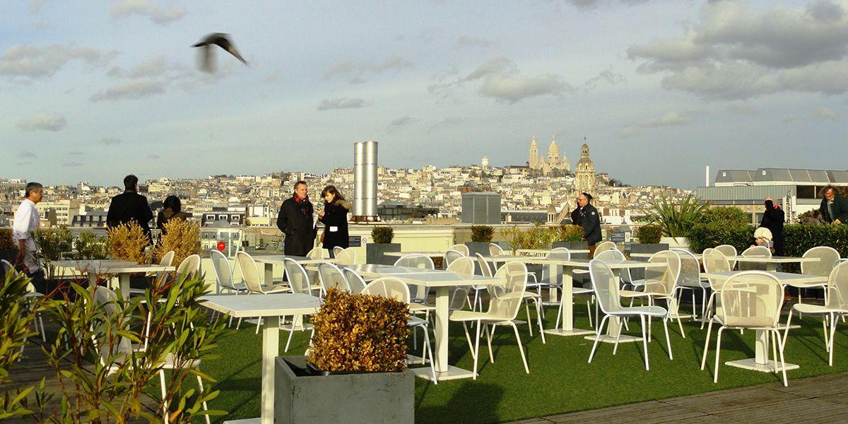 Restaurant Déli Cieux Toujours Au Top Ce Rooftop Printemps