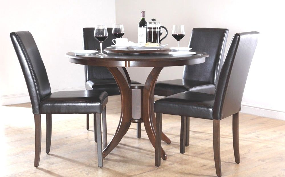 Dark Wood Round Dining Table Inspirational Catchy Black Wood