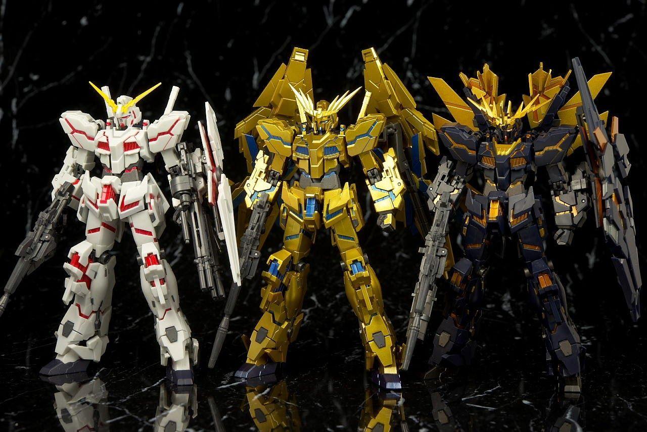 FROM JAPAN Robot Spirits Mobile Suit Gundam Unicorn RX-0 Unicorn Gundam 3 P...