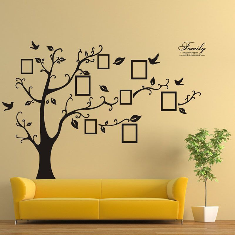 Family Picture Photo Frame Tree Wall Art Stickers Vinyl Decals Home ...