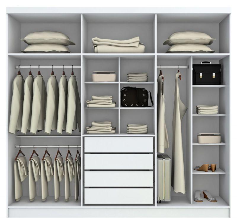 Modelos de guarda roupas pesquisa google closet for Ropa interior para correr