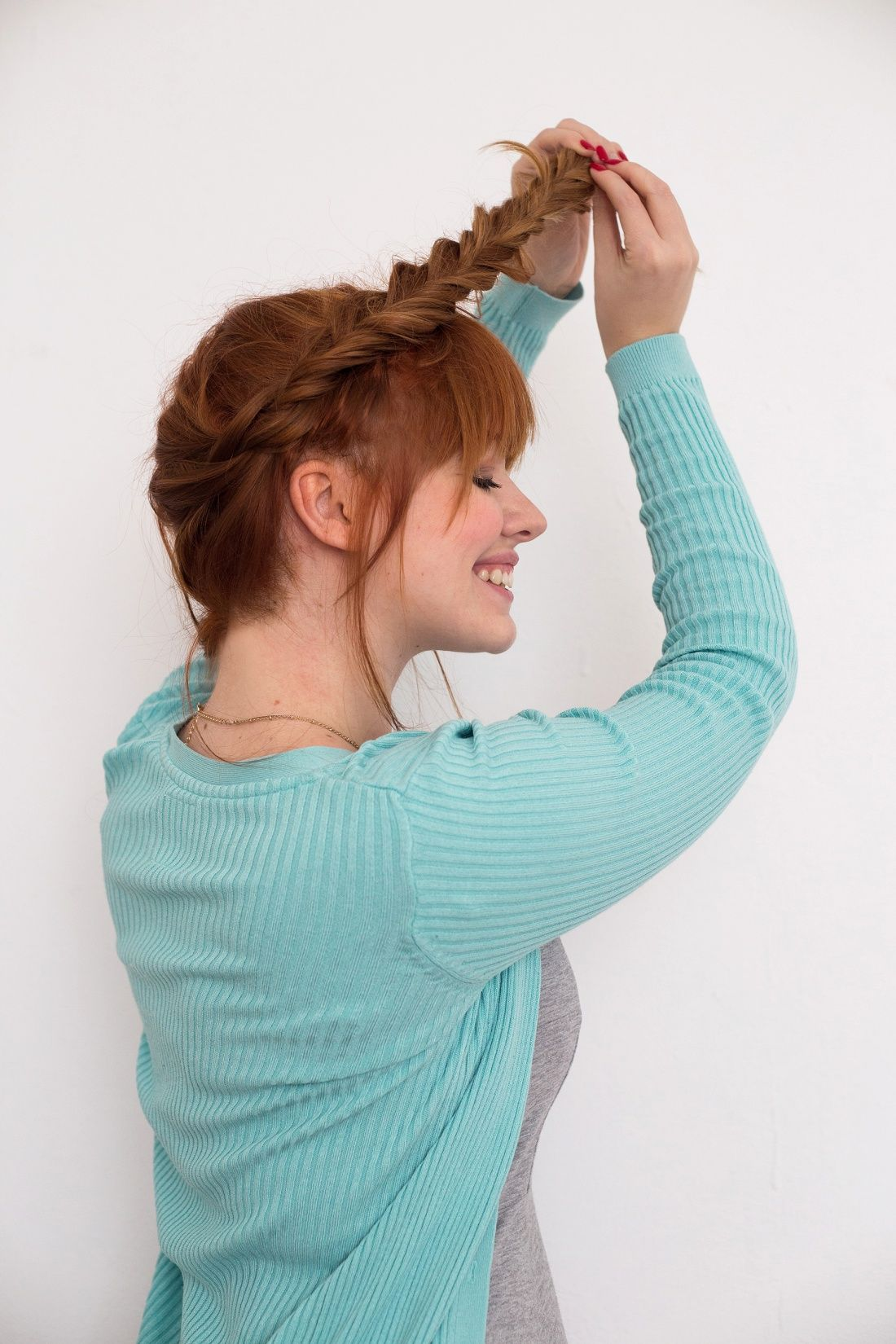 star wars fans need to try this princess leia hair tutorial. | love