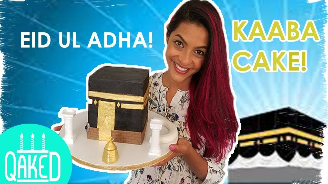 How to make a kaaba cake using the wax paper transfer