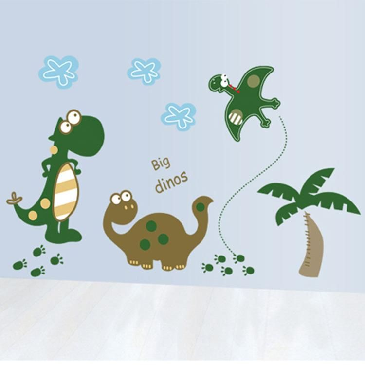Cute Baby Dinosaurs Wall Stickers Mypearlsukshop Pinterest